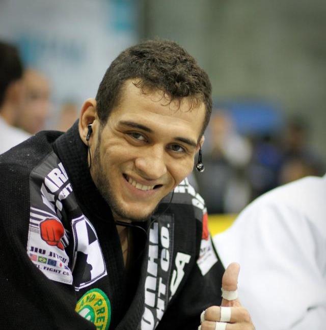 Renato Cardoso, faixa-preta de Rodrigo Cavaca. Foto: Arquivo pessoal