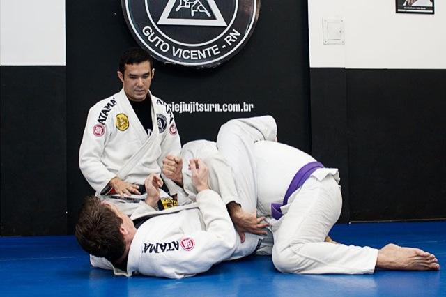 Ronaldo Aoqui: Jiu-Jitsu com padrão Gracie de qualidade na escola Facex em Natal. Foto: Divulgação