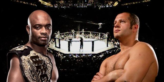 Anderson Silva ou Fedor Emelianenko? Que lutador está no seu coração como o melhor de todos? Fotos: Divulgação