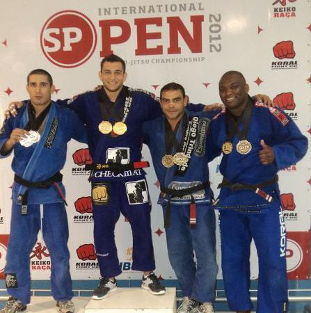 Video: Jiu-Jitsu and sub from 50/50, with SP Open absolute champ