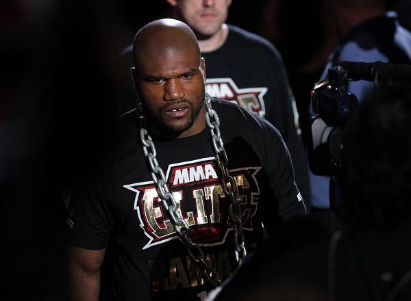 UFC Rio: a estratégia e o treino de Quinton Rampage no Brasil