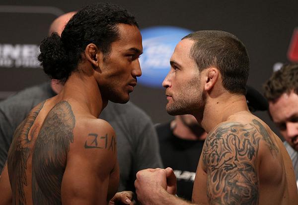 UFC 150: Veja o clima na pesagem em que Guillard não bateu o peso