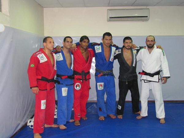 Tem novos faixas-pretas no Jiu-Jitsu da Jordânia