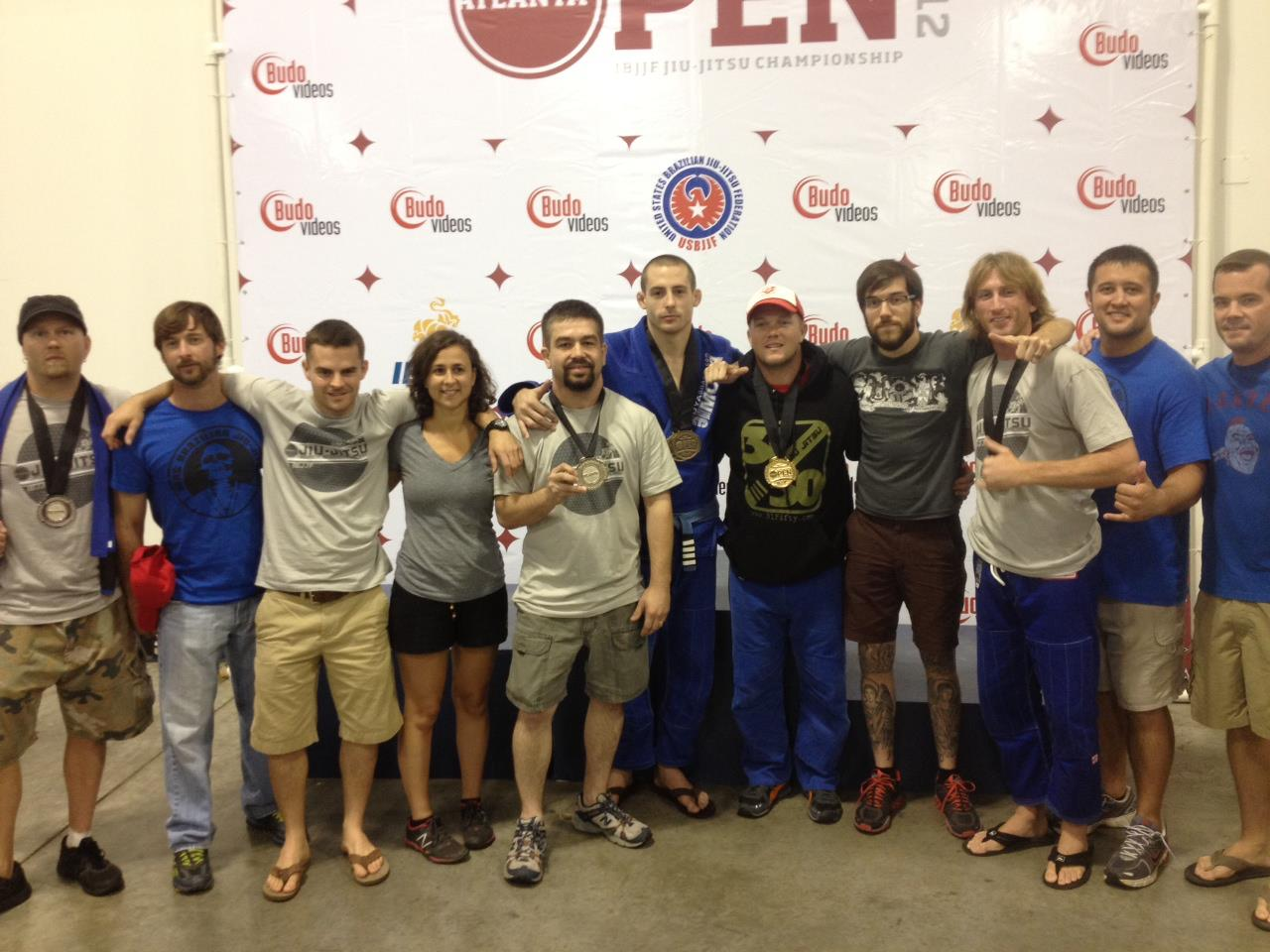 Team Serg BJJ in Atlanta