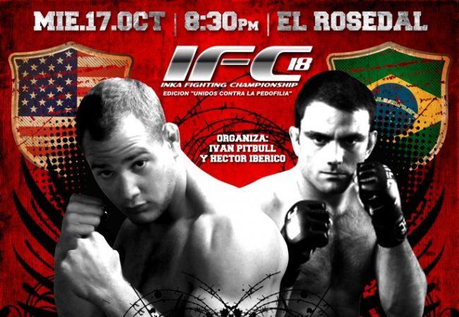 Di Pierro prepares for MMA match next October 17th