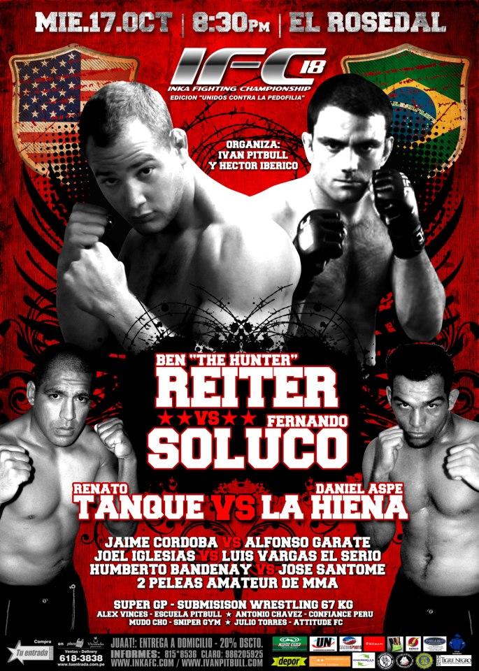Fernando Soluço prepares for MMA match in Ecuador