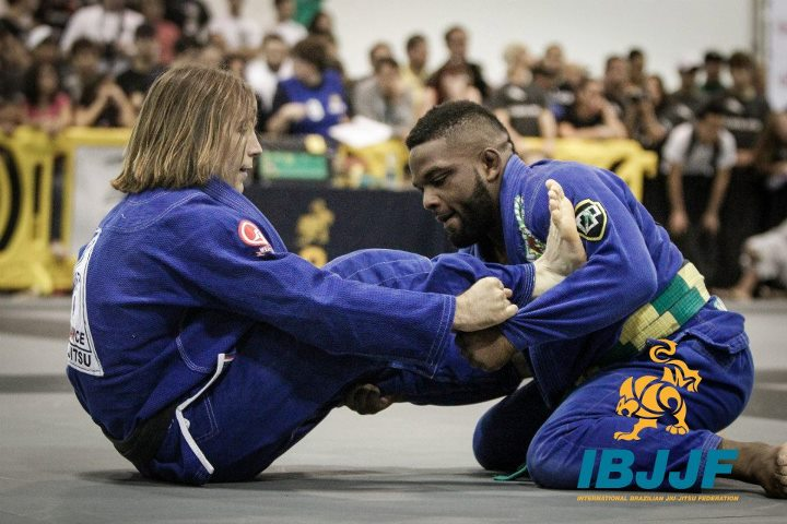 DJ Jackson (right) came out of Atlanta with two black belt golds