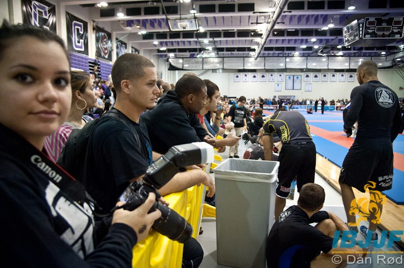 Full house at the 2012 Pan Jiu-Jitsu No-Gi Championship. Photo By Dan Rod