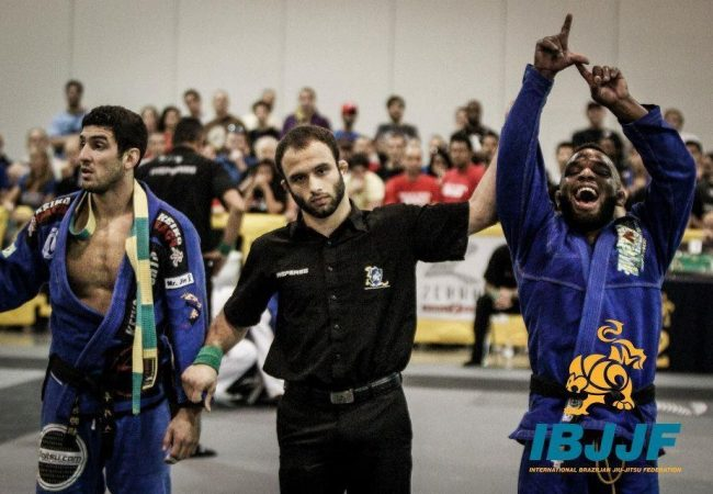 Lloyd Irvin celebrates open class domination in Atlanta