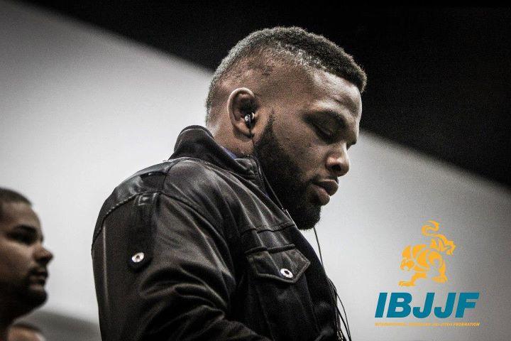 "DJ on ""I want that gold medal"" mode in Atlanta. Phto by Preston Smith/IBJJF"