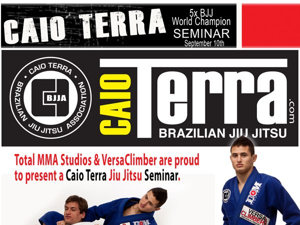 Caio Terra promotes seminar for wounded war veterans