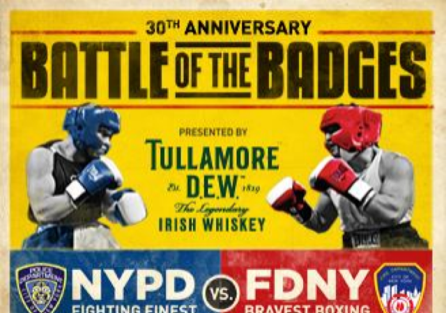 "In NY, annual ""fight"" between police and firemen reaches 30th year"