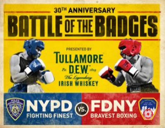 Cartaz da Batalha dos Distintivos em NY