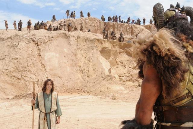 Davi e Golias no cinema Foto Divulgaca