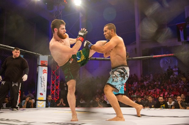 MMA---Desert Force on MBC Action, Ammar Tchalabi (Syria) & Amr Wahman (Egypt)