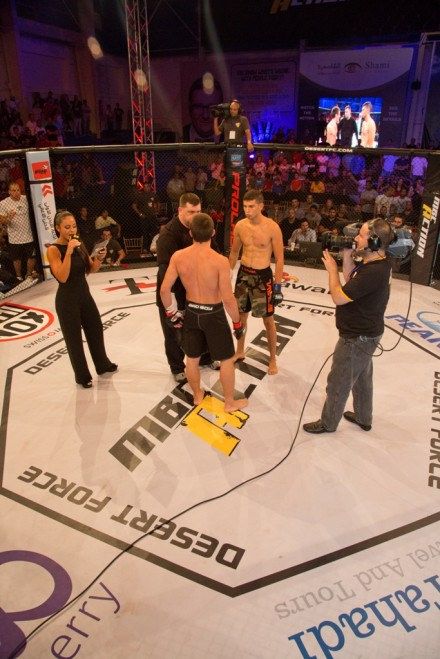 MMA---Desert Force on MBC Action, Haidar Rasheed (Jordan) & Bilel Missaoui (Tunisia)