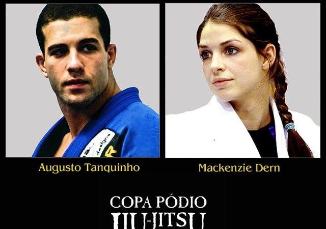Copa Pódio convoca Tanquinho & Mackenzie e lança inédito Duelo de Casais no Jiu-Jitsu