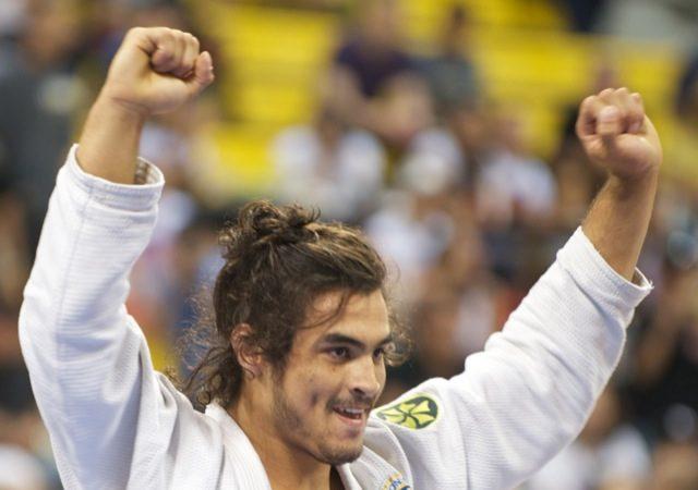 Kron Gracie durante o Mundial de Jiu Jitsu de 2010