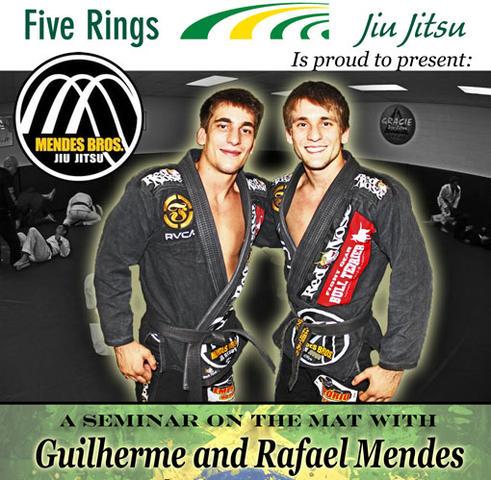 Rafael, Guilerme Mendes at Five Rings JJ