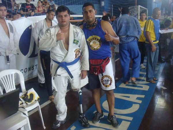 Hardship-hurdling blue belt competes without a leg in Fortaleza