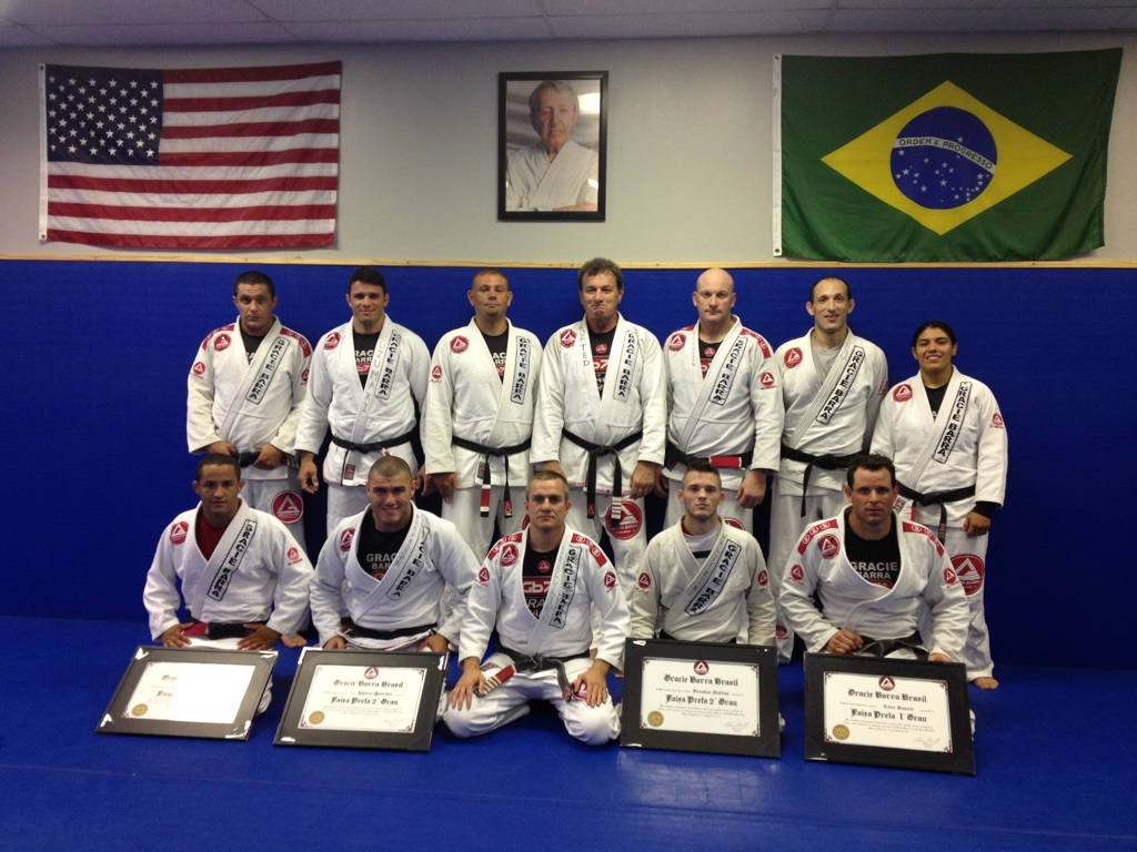Draculino and his team of black belts in Texas
