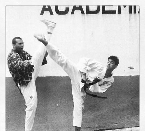 """The day a young Rômulo Barral pulled a """"Karate Kid"""""""
