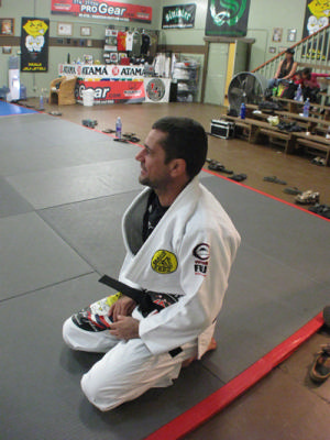 Squashed up in side-control? Get out like Rickson's black belt in Hawaii does