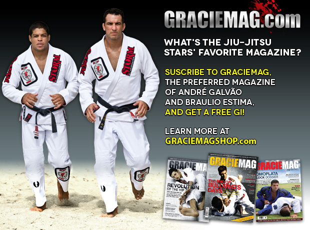 Andre Galvao and Braulio Graciemag Subscription Offer