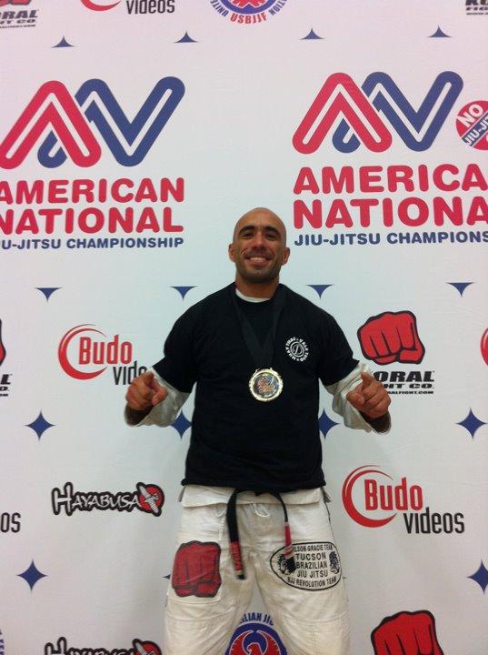 Black belt Demetrius Ramos