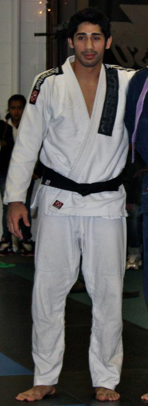 Black belt Alejandro Perez