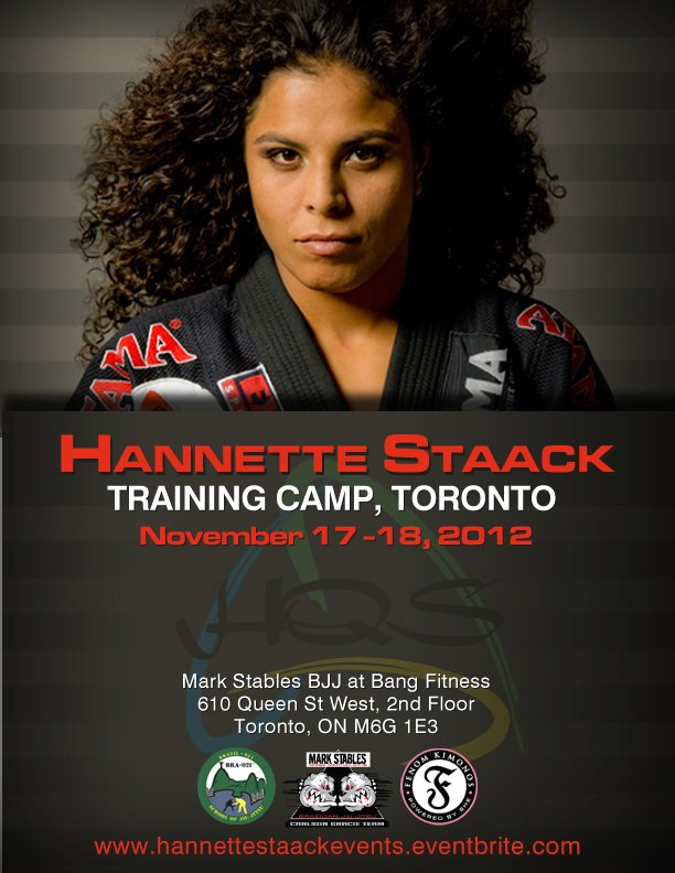 Go train with Hannette Staack