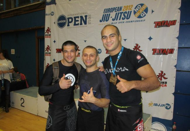 European No-Gi: Bernardo Faria wins the open class, Gracie Barra team champion