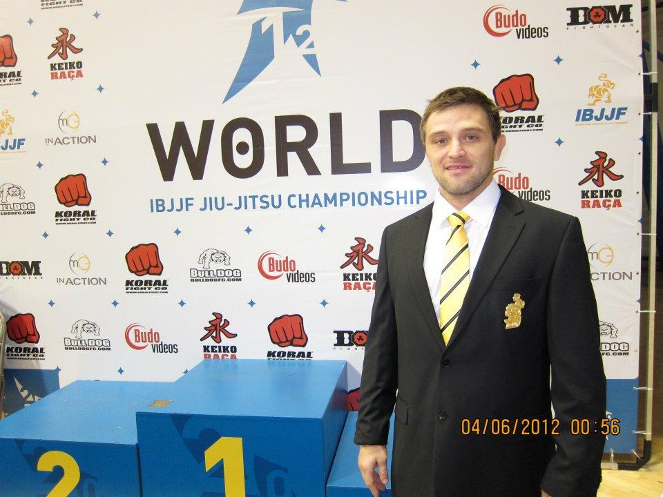 Black belt André Glodzinski