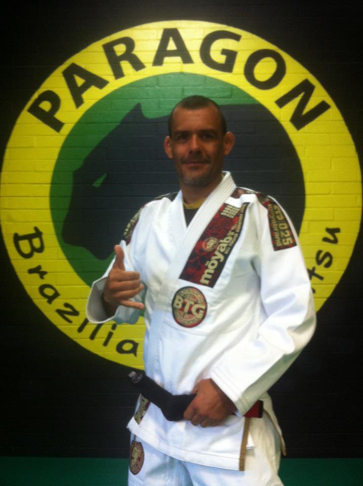 "Black Belt Ricardo ""Franjinha"" Miller"
