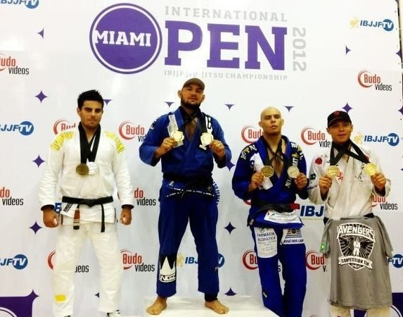 Miami Open: Roberto Cyborg absolute; Alliance team champion