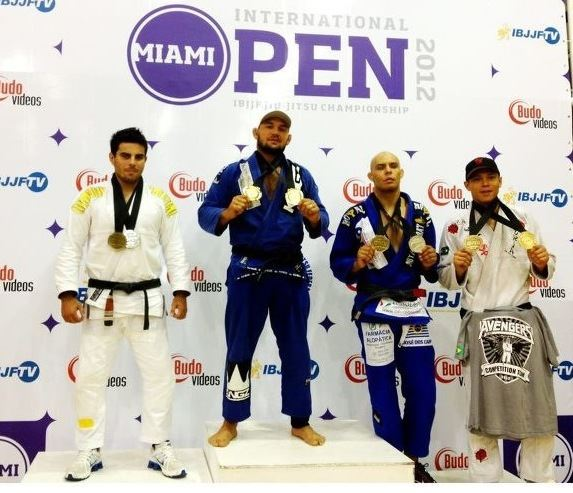 Cyborg is the Miami Open absolute champion
