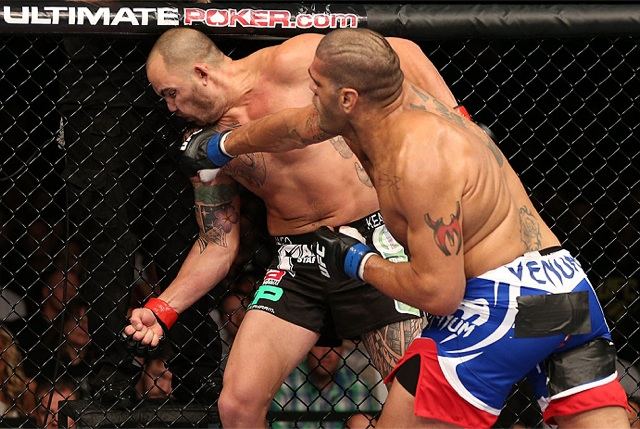 UFC on FX 5 brought comebacks, a guillotine and a big hand from Bigfoot