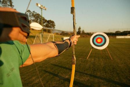 Go from clock to bow-and-arrow choke with one of our GMAs