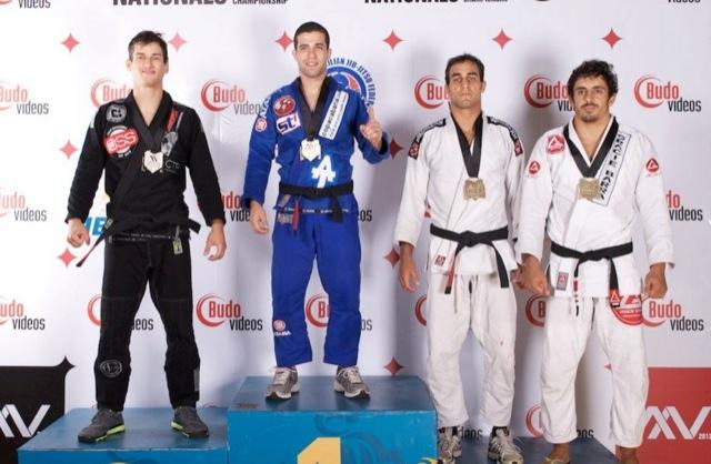 Augusto Tanquinho novamente no topo, na temporada 2012. Foto: John Cooper/IBJJF