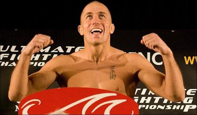 GSP volta a lutar no UFC 154. Foto: Divulgação