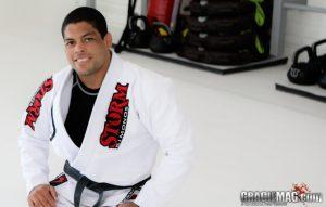Black belt Andre Galvão