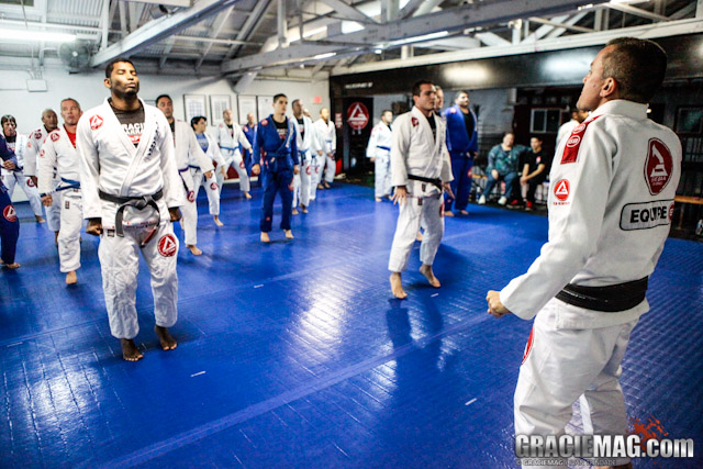 Draculino at the GB Jiu-Jitsu training camp