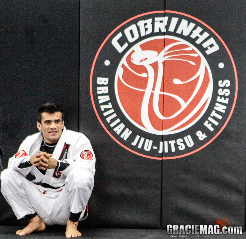 Learn to take the back with Cobrinha
