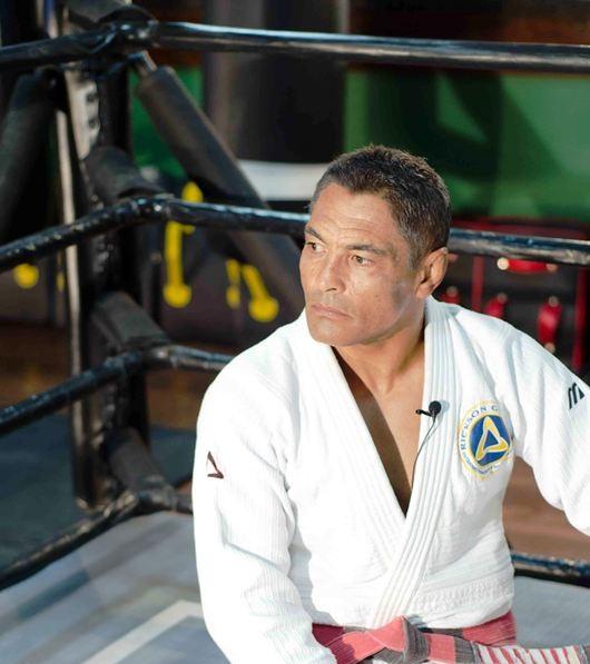 Rickson Gracie, o criador do Mestre do Combate. Foto: Divulgação.