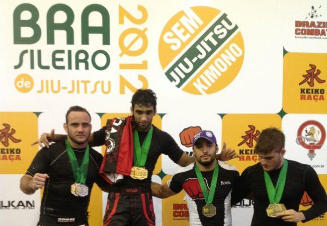Quem consegue parar Leandro Lo, campeão absoluto do Brasileiro Sem Kimono?