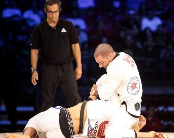 Sweep, pass and Kimura lessons from Rafael Lovato and Kayron