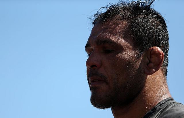 Rodrigo Minotauro durante UFC153 _OpenWorkout