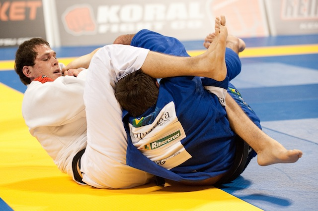 Can't get the choke from the back? Go for the armbar like Roger Gracie