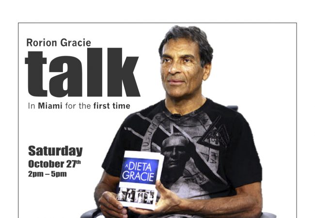 Rorion Gracie talks about diet at Gracie Miami
