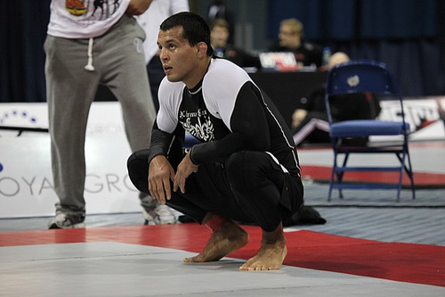 The No-Gi footlock that put the brakes on Marcus Bochecha